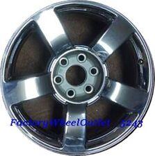 """2005 2006 2007 Chevrolet Silverado Suburban 20"""" Factory Chrome Alloy Wheel #5243"""