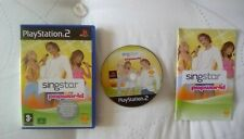Singstar Popworld PS2 game