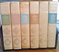 Il tesoro della poesia e della prosa italiane, 6 voll. Selezione Reader's Digest