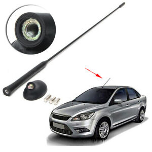 Car AM/FM Roof Antenna + Base Set Fit For Ford Focus Fiesta Mondeo Transit A+