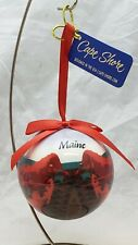 Alan Claude Maine Lobster Christmas Tree Ornament Collectible