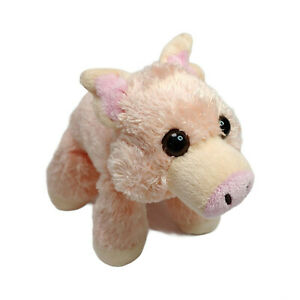 Wild Republic Pink Pig Plush Soft Stuffed Mini Toy Washed and Clean 16cm
