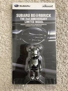 Medicom Bearbrick Subaru 2018 100% 2nd Anniversary Limited Japan Be@rbrick New