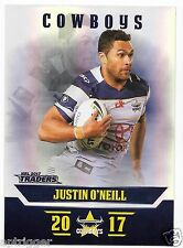 2017 NRL Traders Parallel Special (PS087) Justin O'NEILL Cowboys