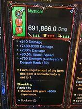 Diablo 3 patch 2.6.1 puce Barbarian Bul kathos niveau de puissance arme Softcore
