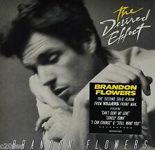 BRANDON FLOWERS - THE DESIRED EFFECT, ORG 2015 EU vinyl LP, SEALED! KILLERS
