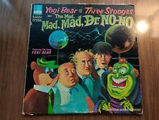 Yogi Bear and the Three Stooges - The Mad, Mad, Mad Dr. No-No Vinyl LP Record