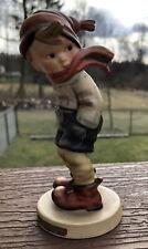 "New ListingGoebel Hummel Figurine March Winds #43 Tmk3 4-3/4"" Excellent Condition"