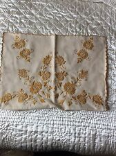 HUNGARIAN HAND EMBROIDERED PILLOW CASE