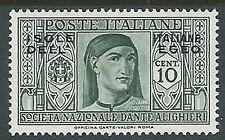 1930 EGEO DANTE 10 CENT MH * - K134