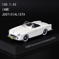 IXO 1/43 1953 IAME JUSTICIALISTA Convertible Rare Diecast Car Model Display