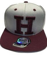 NCAA Harvard Crimson Sideline Hat Cap, Adjustable Snapback Black Youth
