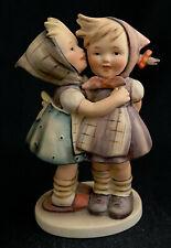 """Goebel Hummel 196/0 Telling Her Secret Whispering Tmk2 Full Bee 5-1/2"""" Figurine"""