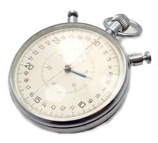 Vintage Slava USSR Soviet Russian Stopwatch Stop Watch 1970's 20j 1-52