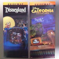 Disneyland & California Disney Guide Maps HalloweenTime 2015 Set Mansion / Tower