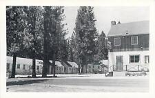 TAHOE VISTA, California CA   PINE RIDGE Motel  Roadside  Black & White Postcard