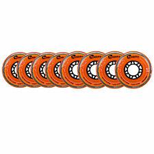 Tour Kemistry Inline Roller Hockey Wheels Grippium Orange 76mm / 80mm 78A HiLo