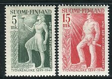 FINLAND 1949 FINNISH LABOR MOVEMENT 50th/ORGANIZATION/WOMEN/TORCH/WORKER MH