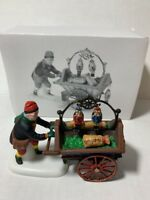 Department 56 Heritage Village Collection Nutcracker Vendor & Cart in Box