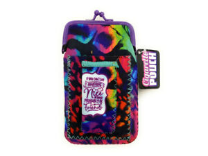 Fun & Colorful Neoprene Cigarette Pouch with Lighter Holder