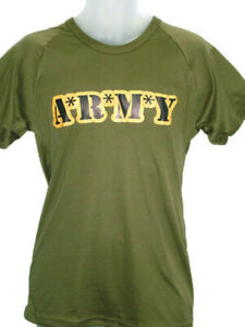 T Shirt - Printed- Army Logo ( MASH Style )