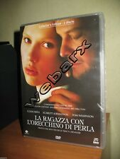 LA RAGAZZA CON L'ORECCHINO DI PERLA 2 DVD NUOVO SIGILLATO collector's
