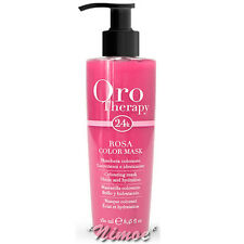 Fanola Oro Therapy Maschera colorata Rosa 250 ml