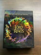 The Lord Of The Rings The Motion Picture Trilogy Blu Ray 9 DiscBoxSet - Like New