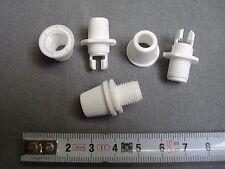 4 serre câbles électriques blanc,à écrou,(réf SC4) lustre lampe luminaire