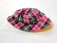 The Children's Place Baby Girl's Bucket Hat Size Variations Pink Black Plaid NWT