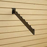 Only Hangers Black 7-Cube Waterfall Slatwall Faceout 1 pc