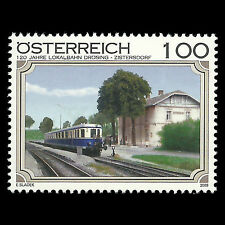 Austria 2009 - Local Railway Train Transportation Railroads - Sc 2225 MNH