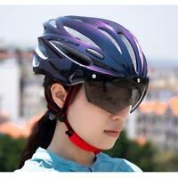 Fahrradhelm Magnet Brille MTB Rennrad Helm Motorrad E-Bike City Bike Kopfschutz
