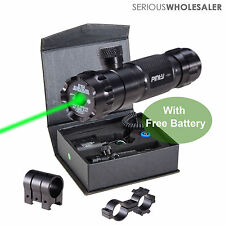 Tactical Green Dot Laser Sight Rifle Gun Dot Scope Picatinny Rail Free Batteries