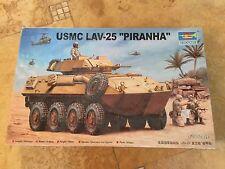 "Trumpeter 1/35 Scale Model Military Tank Kit USMC Lav-25 ""Piranha"" #00349"