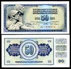 YUGOSLAVIA - 50 Dinara 1968 FDS UNC