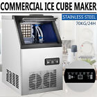 150LB Built-In Commercial Ice Maker Undercounter Freestand 5*9 Ice Cube Machine photo