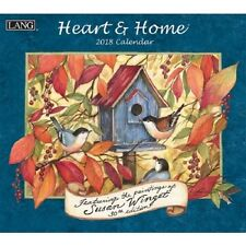 2018 Lang Heart & Home Wall Calendar by Susan Winget NEW