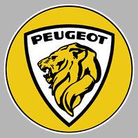 Logo ref21 Sticker Auto Stickers Peugeot Sport Lion Sticker Car