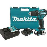 "Makita FD07R1 12V Max CXT Lithium Ion Brushless Cordless 3/8"" Driver Drill Kit"