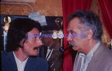 GEORGES BRASSENS JEAN FERRAT 1970s DIAPOSITIVE DE PRESSE ORIGINAL SLIDE #1