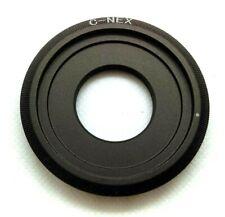 C-Mount to Sony NEX Adapter, C-NEX - Adapt C-Mount Lens to Sony NEX/Alpha Camera