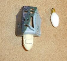 """HAND MADE CERAMIC NIGHT LIGHT WITH ON/OFF SWITCH (MADE IN MICHIGAN) 2"""" x 3"""" x 5"""""""