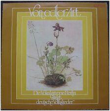 Von edler Art, Vokalgruppe Berlin, VG/VG+,  LP (6053)