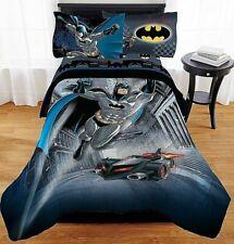 Warner Bros Boys Bedding Set Twin Batman  Guardian Speed Bed in Bag Hero Case