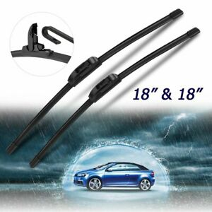 "18""&18""Windshield Wiper Blades For Chevrolet C1500 C2500 C3500 K1500 K2500 K3500"