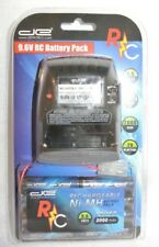 Digital Energy RC 9.6V battery Pack Rechargeable 2000 mAh -NEW-