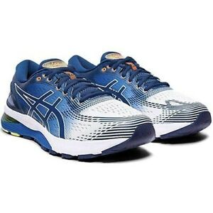 ASICS GEL-NIMBUS 21 1011A714 White / Blue  Running