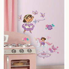 26 DORA THE EXPLORER Pony Adventure DECORATIVE WALL STICKERS