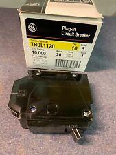 10 Ge Thql1120 Plug-In Circuit Breakers Brand New In Original Box 20 amp